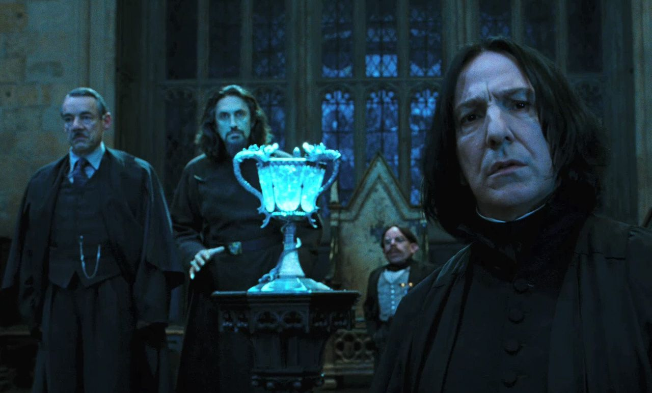 Alan rickman severus rogue - Harry potter la coupe de feu film ...